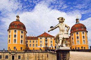 Замок Морицбург (Jagdschloss Moritzburg)